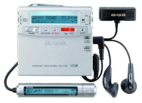 How To Recharge Ac Unit >> MD Community Page: Aiwa Recorders