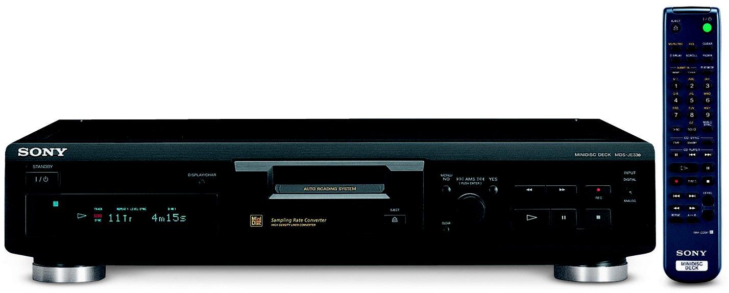 lecteur minidisc de salon mds j330 vds audio vid o. Black Bedroom Furniture Sets. Home Design Ideas