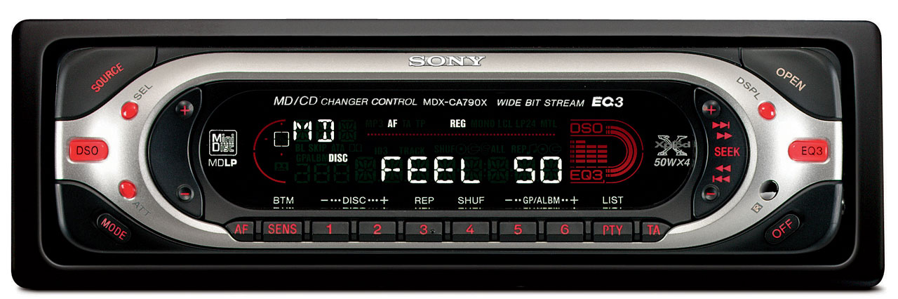 Sony CDX4000X  Fmam Compact Disc Player Operating Instructions Manual
