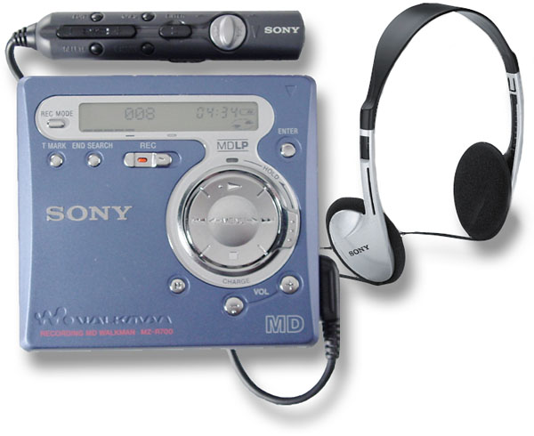 Sony mz g750 /r700 series minidisk service manual for sale.