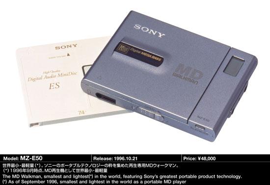 Sony mz-e300/MiniDisc Walkman